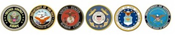 Army Navy Air Force Coast Guard Department of Defense